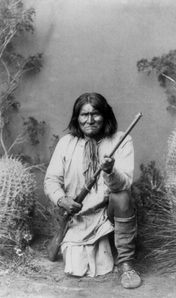 アパッチ族 ジェロニモの写真・...