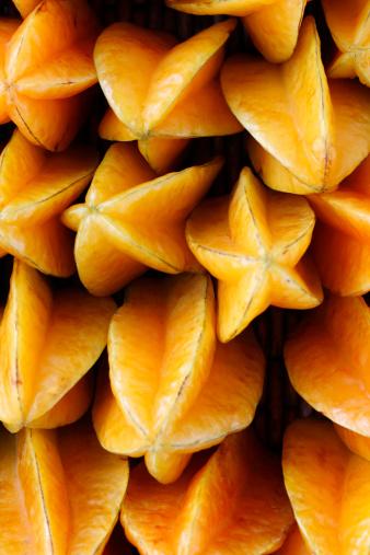 Starfruit「Photograph of multiple starfruit」:スマホ壁紙(4)