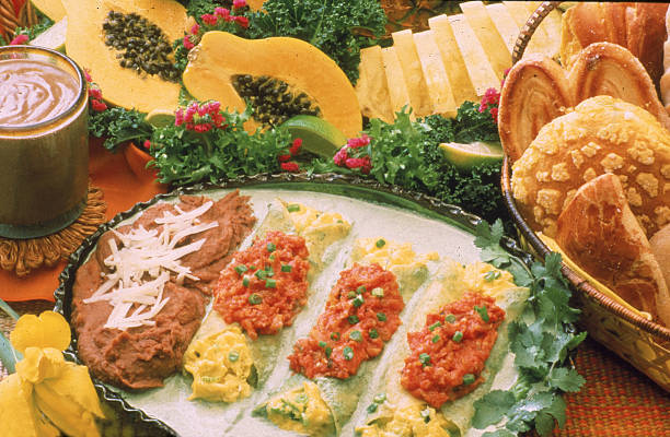 Mexican-Style Food Items:ニュース(壁紙.com)