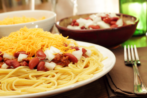 Chili Con Carne「An appetizing view of freshly cooked Cincinnati Chili」:スマホ壁紙(18)