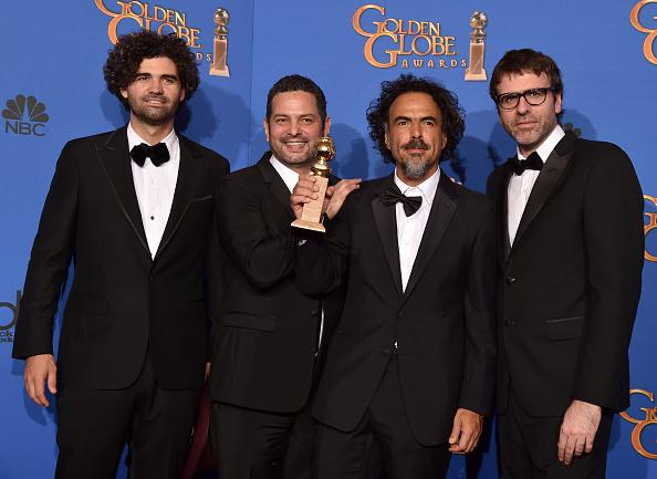 Best Screenplay Award「72nd Annual Golden Globe Awards - Press Room」:写真・画像(13)[壁紙.com]