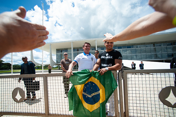 Brasilia「Manifestations In Favor President Jair Bolsonaro Amidst the Outbreak of the Coronavirus」:写真・画像(2)[壁紙.com]