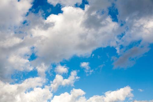 cloud「Blue sky with clouds」:スマホ壁紙(14)