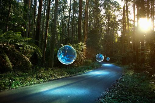 Virtual Reality「Information Path」:スマホ壁紙(13)