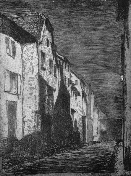 Dark「Street at Saverne, 1858, (1903)」:写真・画像(16)[壁紙.com]