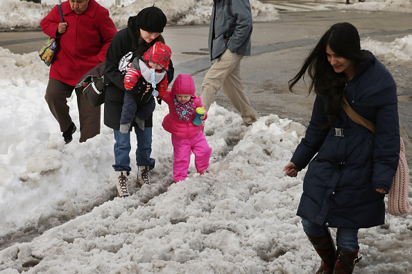 2016 Winter Storm Jonas「Washington, D.C. Area Continues To Dig Out From Historic Snow Storm」:写真・画像(17)[壁紙.com]