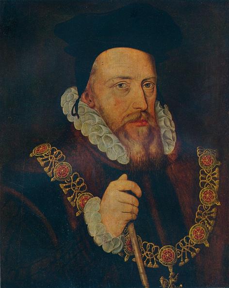 Black Background「'William Cecil, Lord Burghley', 16th century. Artist: Unknown.」:写真・画像(13)[壁紙.com]