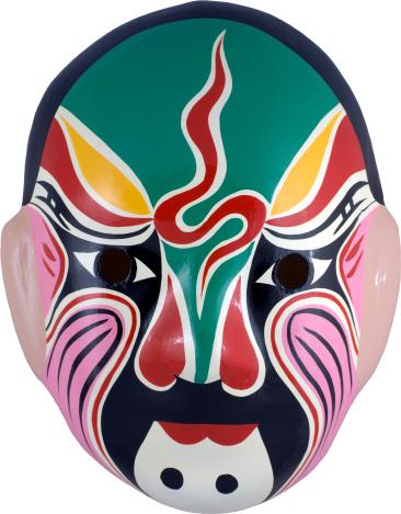 Paper Craft「chinese mask series」:スマホ壁紙(14)