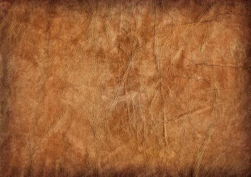 Rectangle「Hi-Res Brown Veal Leather Crumpled Mottled Vignette Grunge Texture」:スマホ壁紙(5)
