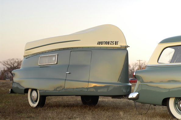 Journey「Ford Ranch wagon with kom pack trailer 1952」:写真・画像(5)[壁紙.com]