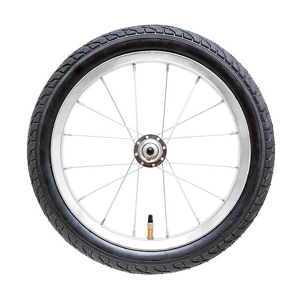 Bicycle wheel (Clipping Path) isolated on while background:スマホ壁紙(壁紙.com)