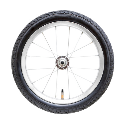 Part Of「Bicycle wheel (Clipping Path) isolated on while background」:スマホ壁紙(3)