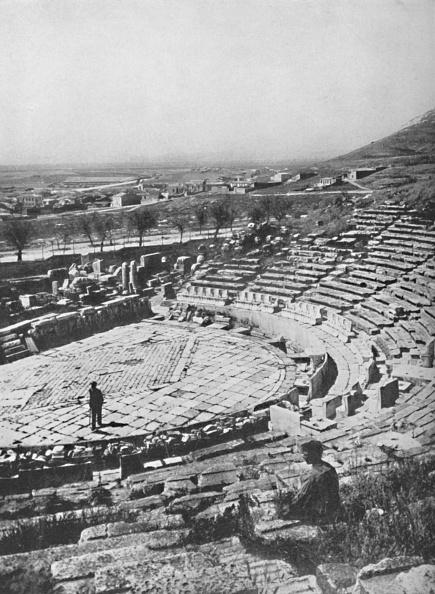 UNESCO World Heritage Site「The Theater Of Dionysus On The Southern Slope Of Acropolis」:写真・画像(11)[壁紙.com]