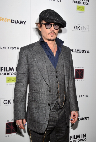 "Nail Polish「""The Rum Diary"" New York Premiere - Inside Arrivals」:写真・画像(15)[壁紙.com]"