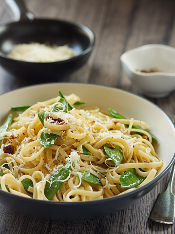 Close-up「Cacio e pepe mangetout と」:スマホ壁紙(7)