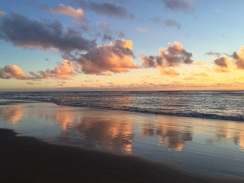 Cannon Beach「Beach at sunset, Cannon Beach, Oregon, America, USA」:スマホ壁紙(5)