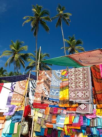 アジュナビーチ「Anjuna 、ゴア、インドます。」:スマホ壁紙(1)