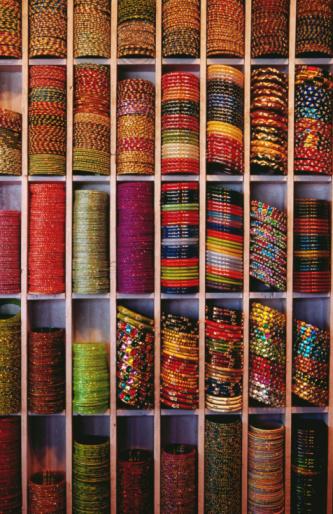 Rajasthan「Bangle shop at Tripolia Bazaar.」:スマホ壁紙(3)