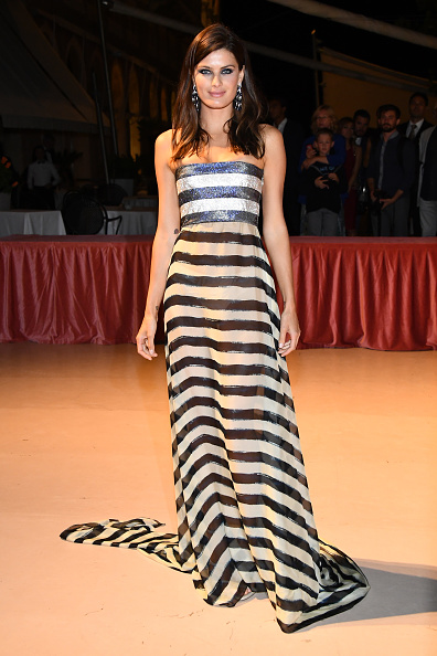 Black Color「Opening Ceremony Dinner Arrivals - 74th Venice Film Festival」:写真・画像(7)[壁紙.com]