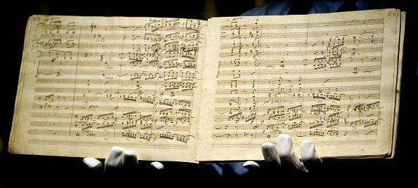 Manuscript「Beethoven's Ninth Symphony Manuscript is sold for £1.9 Million GBP」:写真・画像(4)[壁紙.com]