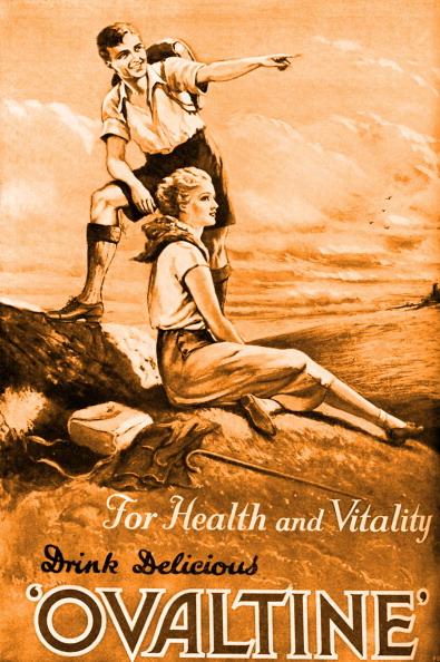 Publication「' Ovaltine ' magazine advertisement, 1932 (Tinted)」:写真・画像(19)[壁紙.com]