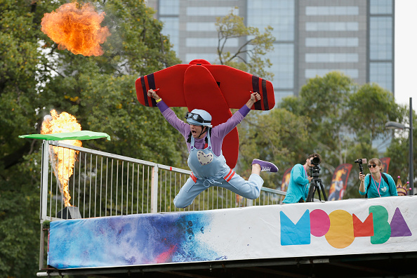 Participant「Melburnians Take Part In Annual Birdman Rally At Moomba Festival」:写真・画像(19)[壁紙.com]