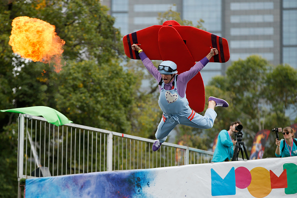 Participant「Melburnians Take Part In Annual Birdman Rally At Moomba Festival」:写真・画像(18)[壁紙.com]