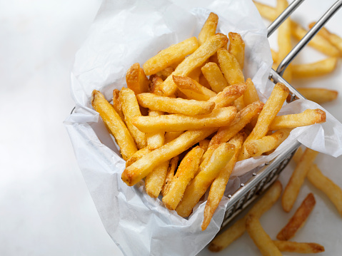 Deep Fried「Air Fried, Crispy French Fries」:スマホ壁紙(3)
