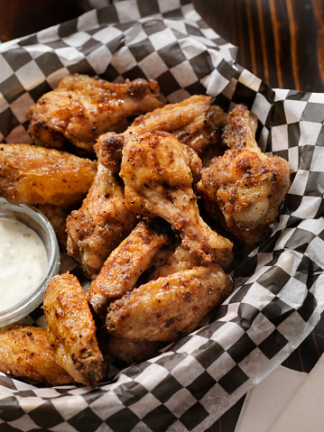 Chicken Wing「Air Fried, Crispy Chicken Wings with Ranch Dip」:スマホ壁紙(19)