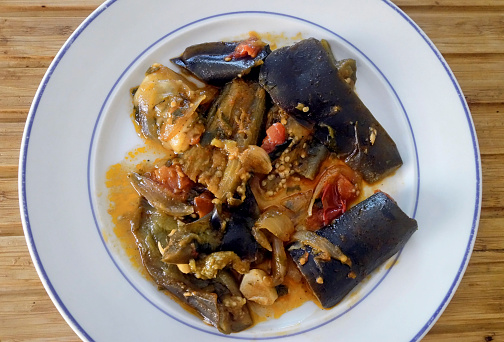 Vegetables「Greek Cuisine. Baked Aubergines with Feta Cheese」:スマホ壁紙(9)