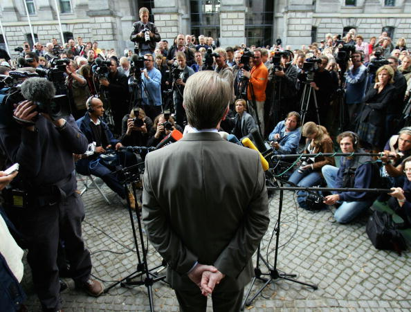Press Room「SPD And Greens Party Pre-Coalition Talks」:写真・画像(8)[壁紙.com]