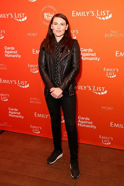 "Leather Jacket「EMILY's List's ""Resist, Run, Win"" Pre-Oscars Brunch」:写真・画像(15)[壁紙.com]"