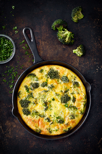 Cast Iron「Omelet with broccoli and cheddar cheese」:スマホ壁紙(13)