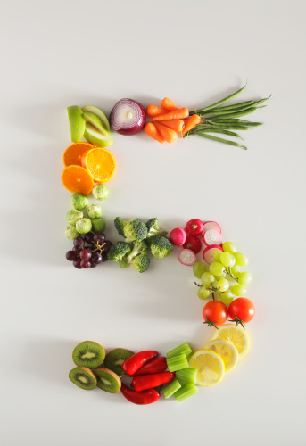 Radish「five a day fruit and vegetables」:スマホ壁紙(6)