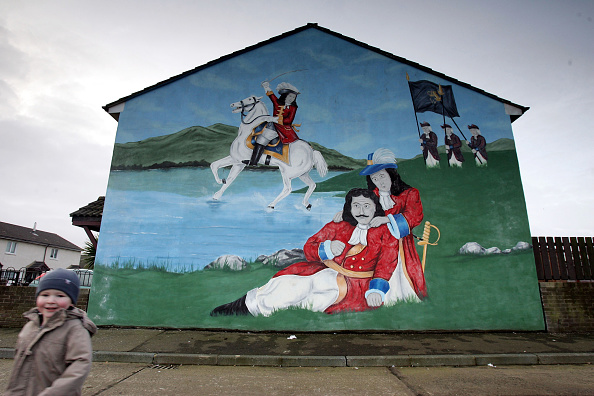 Graffiti「Northern Ireland In The Shadow Of The Peace Process」:写真・画像(7)[壁紙.com]