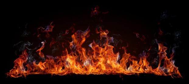 炎「火災」:スマホ壁紙(1)