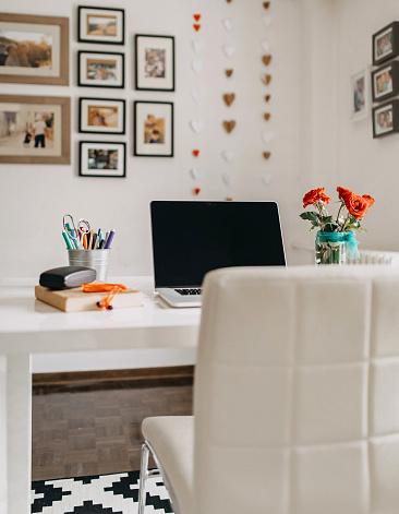 Computer Keyboard「Home office」:スマホ壁紙(11)