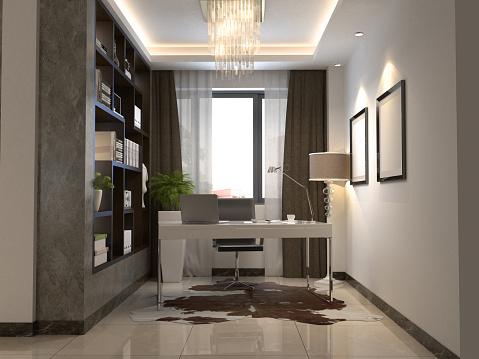 Spotlight「Home Office Work Room Interior」:スマホ壁紙(12)