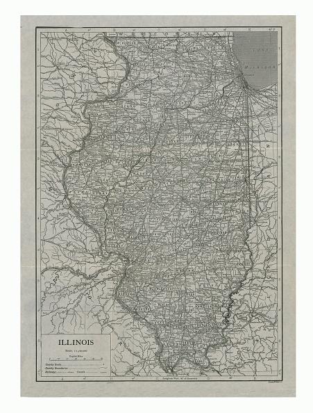 Full Frame「Map Of Illinois」:写真・画像(3)[壁紙.com]