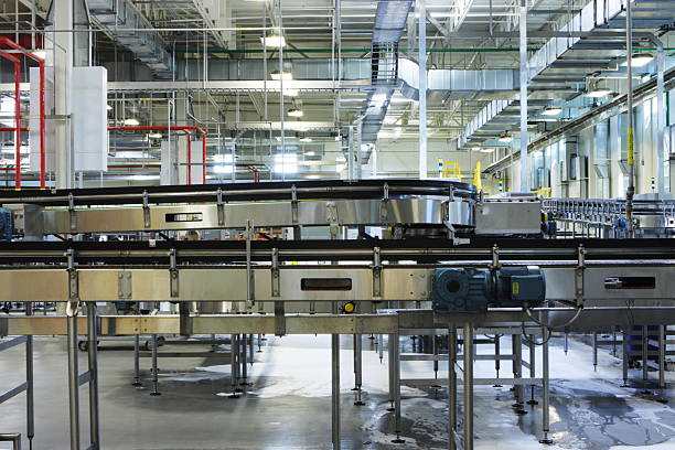 Factory Conveyor Food Beverage Packaging Machinery:スマホ壁紙(壁紙.com)