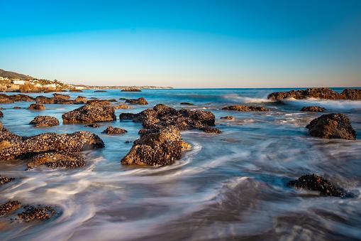 Malibu「Malibu Sunrise Over La Piedra State Beach」:スマホ壁紙(12)