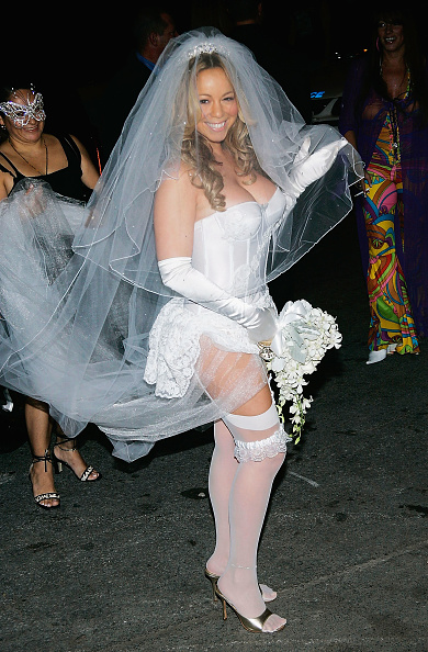 Wedding Dress「Mariah Carey's Halloween Party」:写真・画像(18)[壁紙.com]