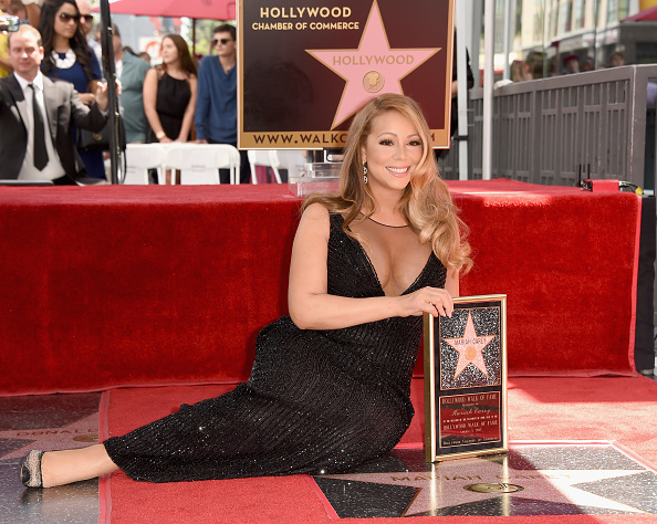 Hollywood - California「Mariah Carey Honored With Star On The Hollywood Walk Of Fame」:写真・画像(15)[壁紙.com]