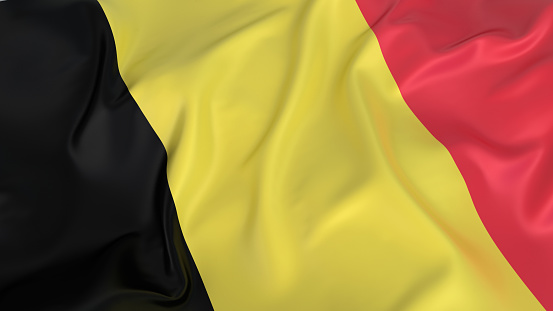 Belgium「Rippled flag of Belgium」:スマホ壁紙(15)