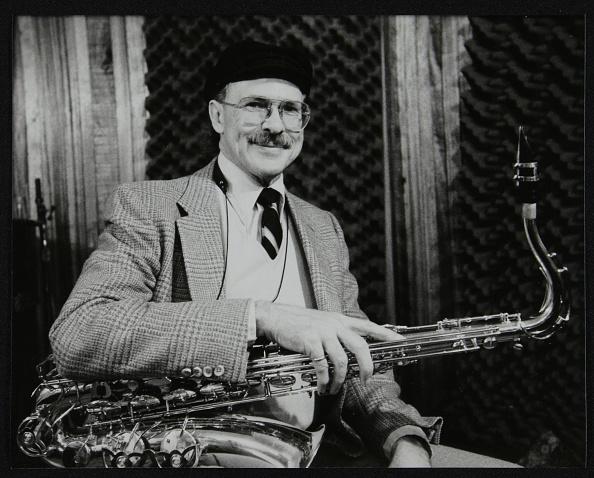 Beret「American saxophonist Don Lanphere at The Bass Clef, London, 1985. Artist: Denis Williams」:写真・画像(9)[壁紙.com]