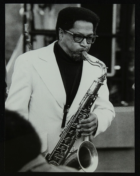Illinois「American saxophonist Illinois Jacquet playing at the Capital Radio Jazz Festival, London, 1979. .」:写真・画像(9)[壁紙.com]