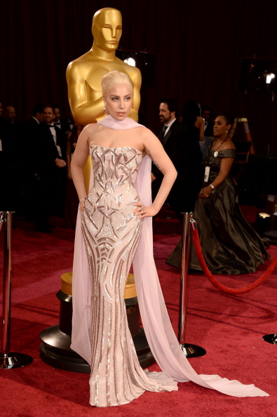 Strapless Evening Gown「86th Annual Academy Awards - Arrivals」:写真・画像(9)[壁紙.com]