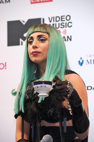 Green Hair「Lady Gaga Press Conference」:写真・画像(2)[壁紙.com]