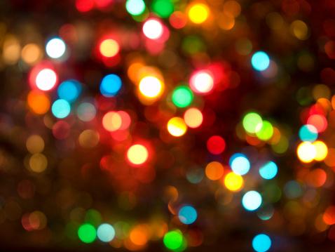 Christmas Lights「Defocussed Christmas Lights」:スマホ壁紙(16)