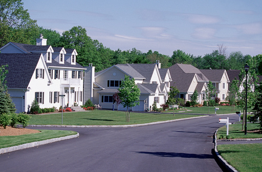 Mid-Atlantic - USA「Suburban Homes in New York's Westchester County」:スマホ壁紙(1)